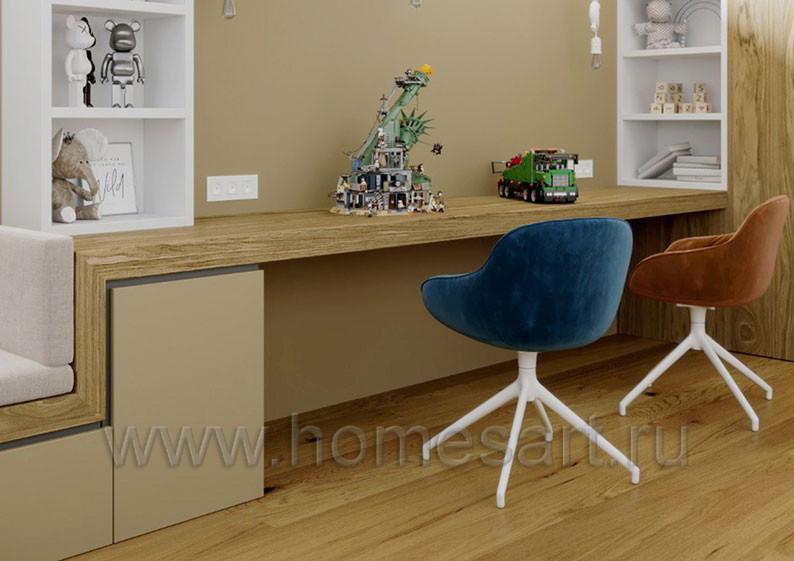 Мебель для детской комнаты натуральный шпон