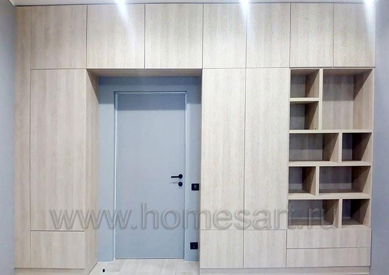 Шкаф для спальни в квартире ЖК Аалто