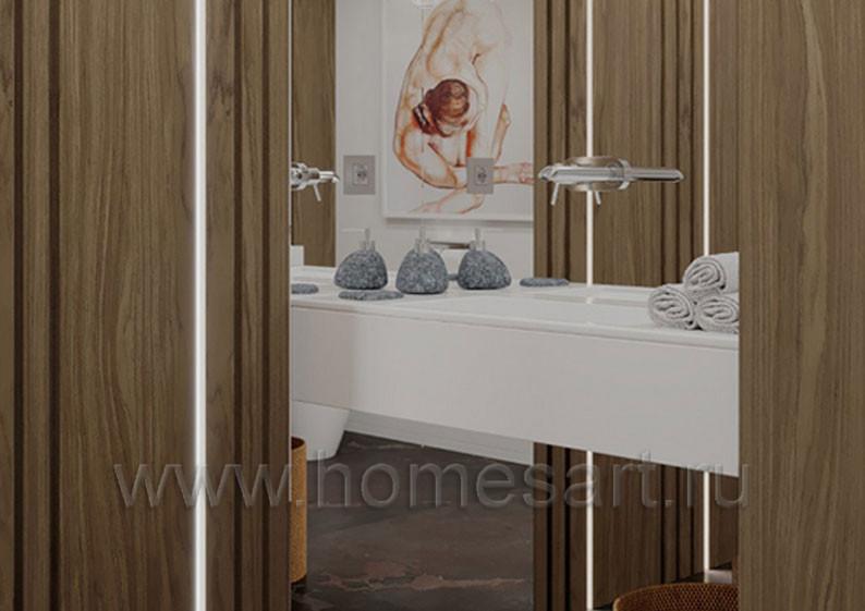 Мебель для постирочной и санузла в доме