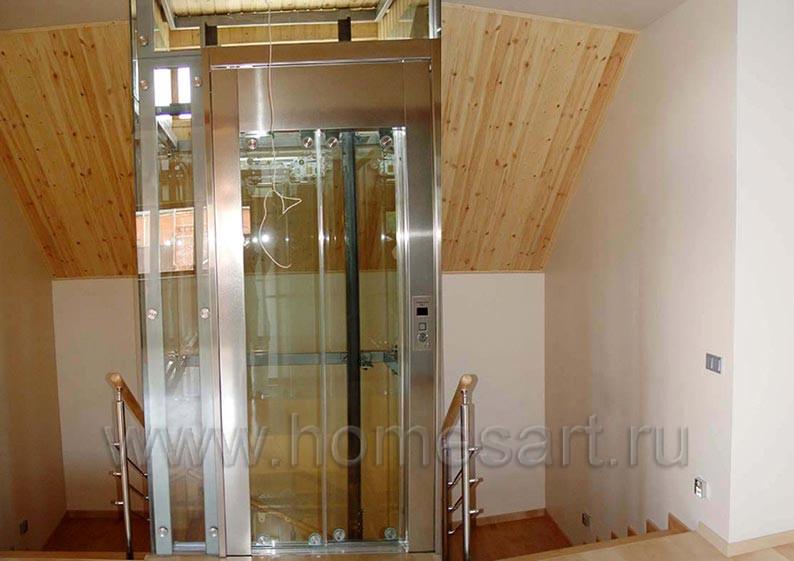 Мансарда с лифтом в частном доме